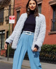 Glamour, Moda Fashion, Moda Online, Winter Outfits, Mom Jeans, Ideias Fashion, Pants, Toque, Style