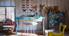 Fabric Covered Furniture Home Office
