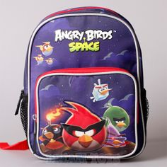 Jelfis.com - 10' Rovio Angry Birds Space Planets Mini Toddler Backpack Boys Girls School Bag, $13.99 (http://www.jelfis.com/10-rovio-angry-birds-space-planets-mini-toddler-backpack-boys-girls-school-bag/)