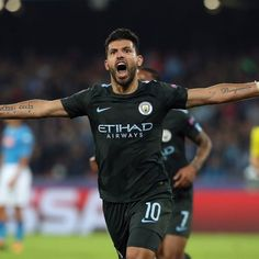 Sergio Aguero: I'll leave Manchester City: Sergio Aguero on leaving Man City Once again this season, Sergio Aguero has been in fine scoring… Sergio Aguero, Raheem Sterling, Transfer Rumours, Cricket Bat, Uefa Champions League, Fifa World Cup, Manchester City, Real Madrid, Premier League