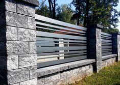 Fence Gate Design, Modern Fence Design, Balcony Railing Design, House Gate Design, Sustainable Architecture, Residential Architecture, Contemporary Architecture, Underground Homes, Front Gates