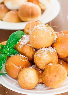 Baked or Fried Pizza Balls – so easy and fun to make, and of course yummy!
