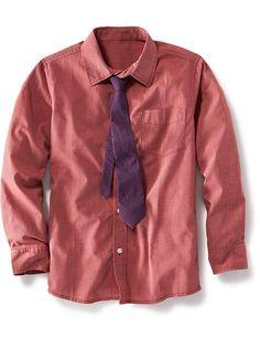 Boys Shirt and Tie Set