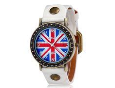 Woman Watch UK Flag. Shop online on: ilovetimepieces.com