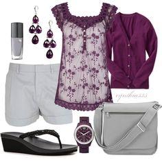 """Purple"" by cynthia335 on Polyvore"