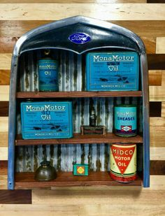 Incredible Mona Motor Oil Advertising Collection!