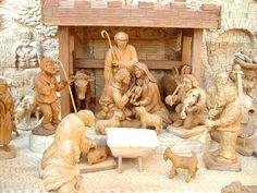 betlémy - Hledat Googlem Stuffed Mushrooms, Lion Sculpture, Statue, Vegetables, Christmas, Painting, Food, Art, Stuff Mushrooms