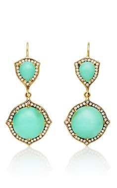 Chrysoprase Earrings...stunning