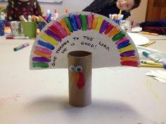 preschool Thanksgiving craft | Sunday school thanksgiving craft - Thankful Turkey | Preschool