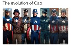 Chris Evans has made Captain America cool, but looking back over his six appearances in the Marvel Cinematic Universe, how does the character fare? Marvel Dc Comics, Marvel Heroes, Marvel Movies, Marvel Avengers, Marvel Actors, Capitan America Chris Evans, Chris Evans Captain America, Marvel Captain America, Captain America Costume