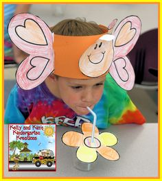 Keep 'Em Buzzy Blog Hop today full of FREE crafts and activities! You can snag our cute butterfly hat and hop along for freebies from others and enter some giveaways as well!