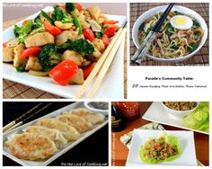 Parade's Community Table - 20 Asian Recipes That Are Better Than Takeout