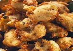 Baccala' fritto con zucca gialla e zucchina.