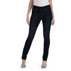 Signature by Levi Strauss & Co. Totally Shaping Pull On Skinny Jeans