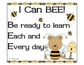 I Can Bee Book and Classroom Management System product from Little-Miss-Kindergarten on TeachersNotebook.com