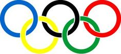 famous_logos_olympics_logo. Colors reflect the colors from most of the different country flags. Circles could represent unity or endless. All intertwined and supporting one another.