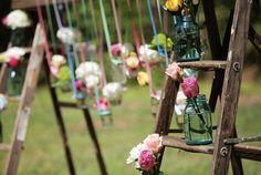 Vintage Pink and Aqua Southern Wedding via Every Last Detail :)