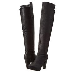 Steve Madden Leather boots   $67