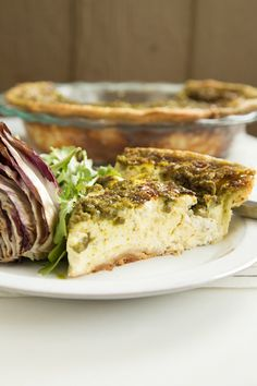 Pesto is the quiche