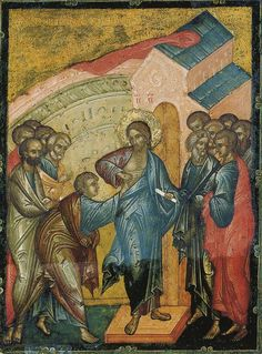 Уверение Фомы Doubting Thomas Icon