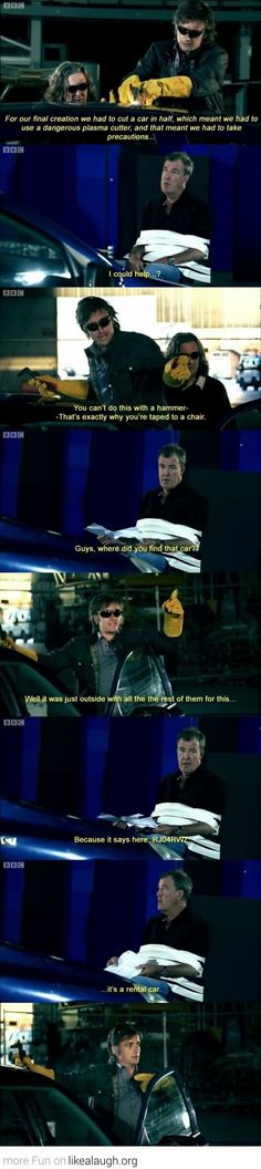 Meanwhile at Top Gear