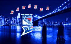 I love this promotional pic for the NY Rangers
