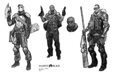 fallout character concept art - Google Search