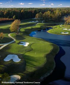 Williamsburg features more than a dozen championship golf courses designed by some of the most famous names in the game.