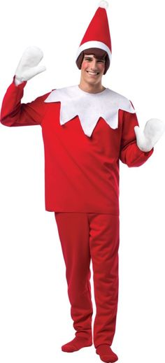 Adult Scout Elf Costume - The Elf on the Shelf - Party City