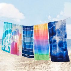 Supersoft essentials for your beach or pool day!  Pottery Barn Teen - Beach Towels
