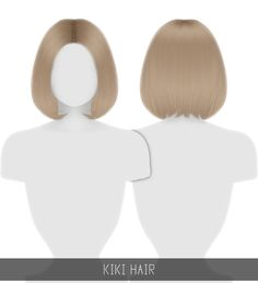 Sims 4 Teen, Sims 4 Toddler, Sims Cc, Sims 4 Body Mods, Sims Mods, Medium Bob Hairstyles, Girl Hairstyles, Teenage Hairstyles, Kpop Short Hair