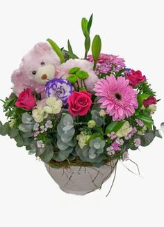 Sugar and Spice A Beautiful Roses And Gerberas Arrangement Sugar And Spice, Beautiful Roses, New Baby Products, Gift Delivery, Floral Wreath, Spices, Africa, Wreaths, Pretty