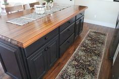 Sapele Butcher Block Counters-21