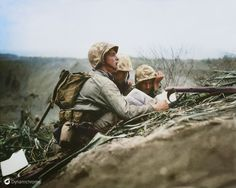42. Observer on Iwo Jima, (1945)