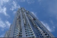 New York Tower - Frank Gehry.  Sinuous skin.