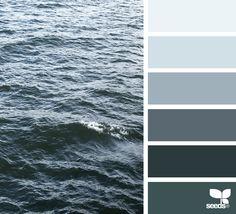 Explore Design Seeds color palettes by collection. Monochromatic Color Scheme, Colour Pallette, Colour Schemes, Sea Colour, Design Seeds, Color Stories, House Colors, Color Inspiration, Paint Colors