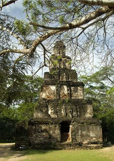 """Polonnaruwa: """"Containing more than 30 shrines, this ancient ruined city was Sri Lanka's capital in the 11th century."""""""