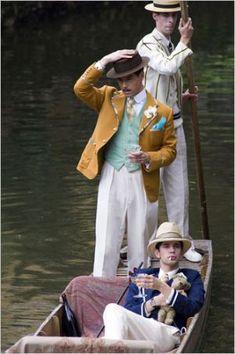 Mens Fashion Night Out Mode Masculine, Vintage Men, Vintage Fashion, Brideshead Revisited, Boater Hat, Dapper Gentleman, Gentleman Style, Gatsby Style, Estilo Retro