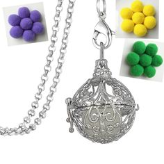 Find More Pendant Necklaces Information about Women Perfume Fragrance Necklaces Gothic Flower Aromatherapy Locket Essential Oil Pom Pom Ball Diffuser Necklaces & Pendants ,High Quality necklace gothic,China diffuser necklace Suppliers, Cheap necklaces & pendants from Winslet&Jean on Aliexpress.com