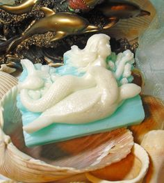 Mermaid and the Turtle Handmade Vegan Soap Mediterranean Garden Spa Scented $7.00