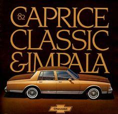 1982 Chevrolet Caprice Classic 4-Door Sedan
