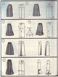 skirt pattern drafting ideas pages full