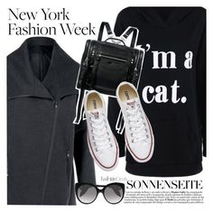 """""""I am a cat"""" by vanjazivadinovic ❤ liked on Polyvore featuring McQ by Alexander McQueen, Converse, Alexander McQueen, polyvoreeditorial and twinkledeals"""
