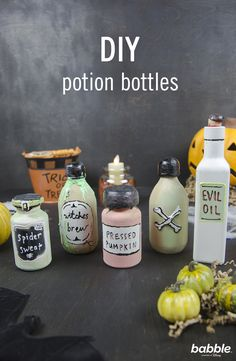 Recipes, Crafts and Activities Homemade Halloween Decorations, Halloween Crafts, Halloween Gender Reveal, When Is My Birthday, Sip And See, Potion Bottle, Witches Brew, Pumpkin Spice Latte, Hocus Pocus