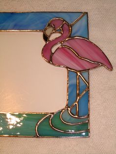 Flamingo+Picture+Frame+by+GriffithDesigns+on+Etsy