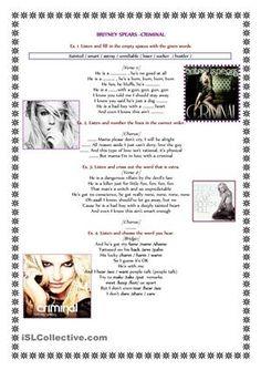 Song-Britney Spears -Criminal