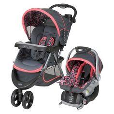Girl - Baby Trend Nexton Travel System - Target - $170