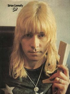 Brian Connolly (b.1945 Govanhill) Lead singer with 'Sweet'. Scored thirteen Top 20 hits during the 1970s.