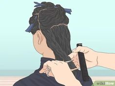 3 Ways to Follow the Curly Girl Method for Curly Hair - wikiHow Make Hair Curly, Kinky Curly Hair, Curly Hair Tips, How To Make Hair, Wavy Hair, Red Hair, Curly Hair Styles, Vixen Sew In, U Part Wig