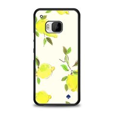 Kate Spade - Lemonade Yellow HTC One M9 Case | yukitacase.com